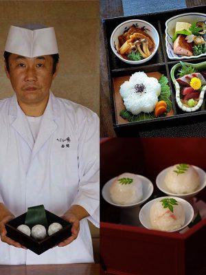 Degustazione Kaiseki con il Maestro Hiroto Akama – Mercoledì 27 Novembre