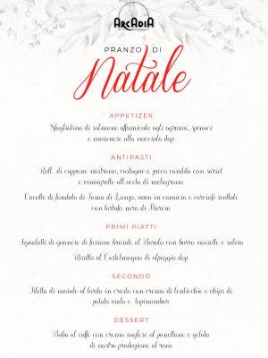 Pranzo di Natala – Arcadia