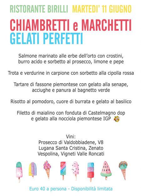 Chiambretti e Marchetti gelati perfetti | Martedì 11 Giugno
