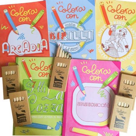 Nuovi libricini da colorare per i nostri piccoli clienti
