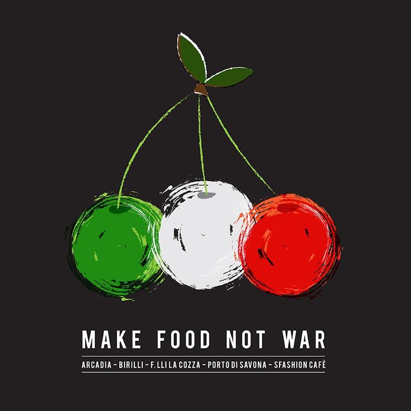 Make Food not war logo